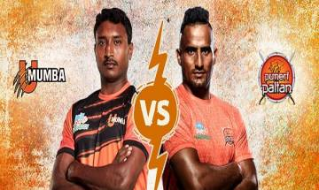 Pro Kabaddi League 2017, Mum vs Pun:  Puneri Paltan overpower U Mumba by 32-21