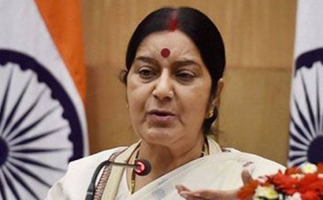 Sushma says visa to France issued to ailing Amrinder's father (File photo)