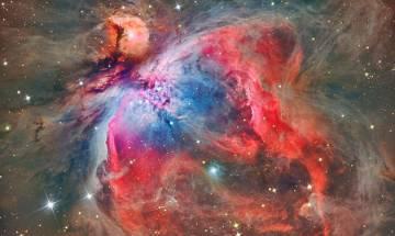 Spectacular Orion Nebula: ESO VLT Survey Telescope provides breath-taking view of vibrant cluster of stars