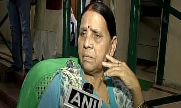Rabri Devi asks when everyone is having properties, why only Lalu's family on target
