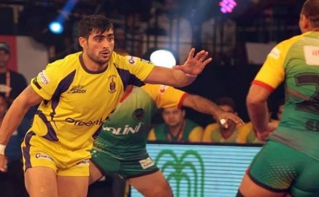 Pro Kabaddi League Season 5 - Telugu Titans skipper Rahul Chaudhari