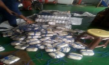 Indian Coast Guard intercept Panamanian ship carrying 1500 Kg narcotics worth Rs 3500 crore