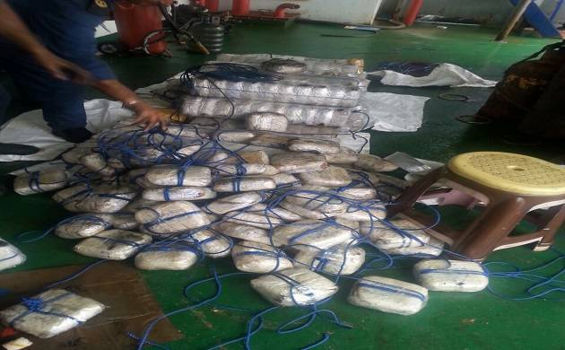 Heroin weighing 1500 kilograms seized from Panamanian ship.