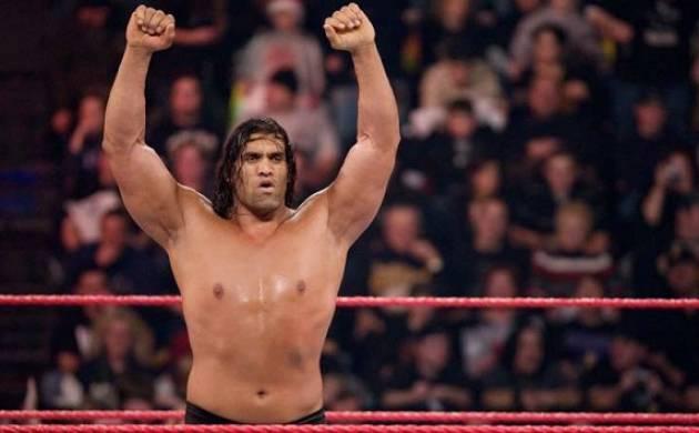 The Great Khali made a return to WWE at Battleground
