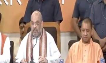 Amit Shah in Lucknow: In 3 years, Modi Govt established India as world leader, weeded out corruption, black money
