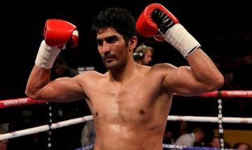 Battleground Asia: 'Chinese product don't last long,' Vijender Singh takes shot at opponent Maimatali