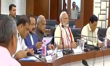 PM Modi reviews Assam floods, chairs high level meeting