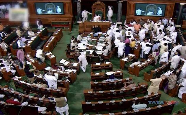 TMC MPs create ruckus in Lok Sabha after BJP MP Kirit Somaiya's allegation