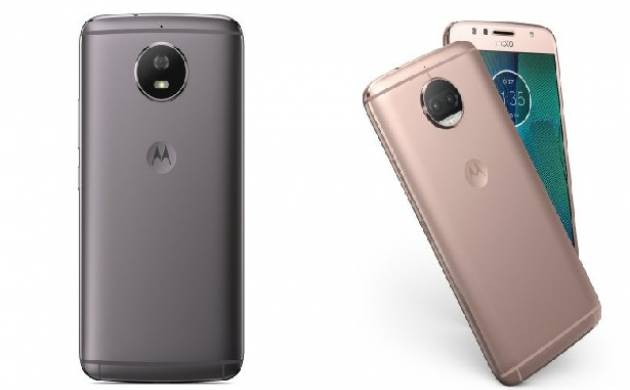 Motorola launches Moto G5S, left, and Moto G5S Plus