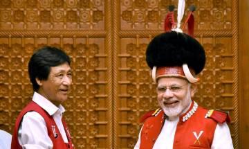 Naga village chiefs meet PM Modi, support peace process