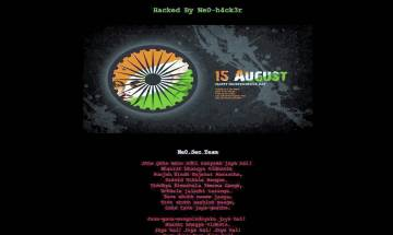 Pakistan govt website attacked; hackers post Indian national anthem, I-Day greetings
