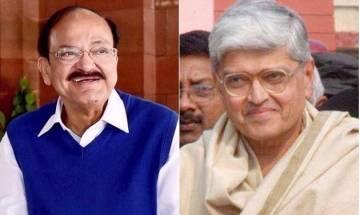 Vice Presidential Poll 2017 | Voting begins, MPs to choose between M Venkaiah Naidu and Gopal Krishna Gandhi