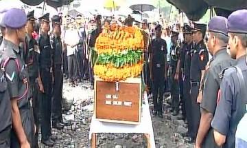 Indian Army Major Kamlesh Pandey's mortal remains consigned to flames with full military honours