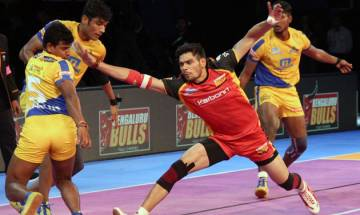 Pro Kabaddi 2017: Bengaluru Bulls defeat Tamil Thalaivas 32-31 in thrilling match
