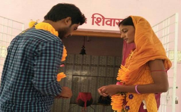 Couple tie knots at a temple within Chakradharpur police station campus. (File Photo)