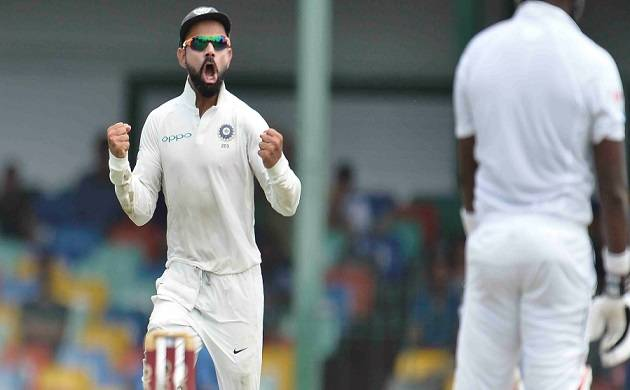 India vs Sri Lanka, 2nd Test, Day 4 (Picture courtesy: SL twitter)