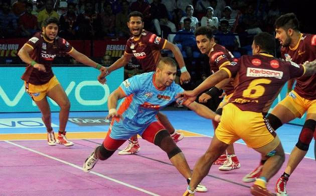 Bengal Warriors defeated UP Yoddha by 40-20