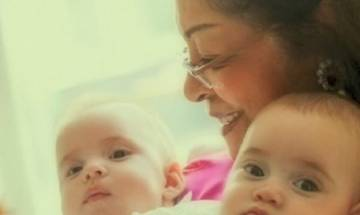 In pics: Karan Johar shares first ever picture of his twins Yash and Roohi, watch it here