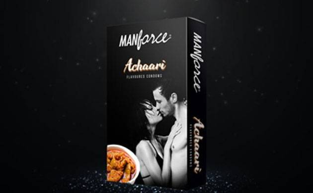 Manforce launches 'pickle' flavoured condoms in India (Source: Facebook)