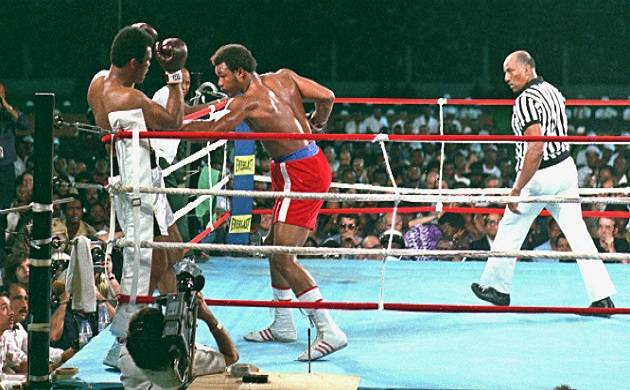 During the pre-fight press conference Ali had announced that he had a 'secret plan' (File photo)