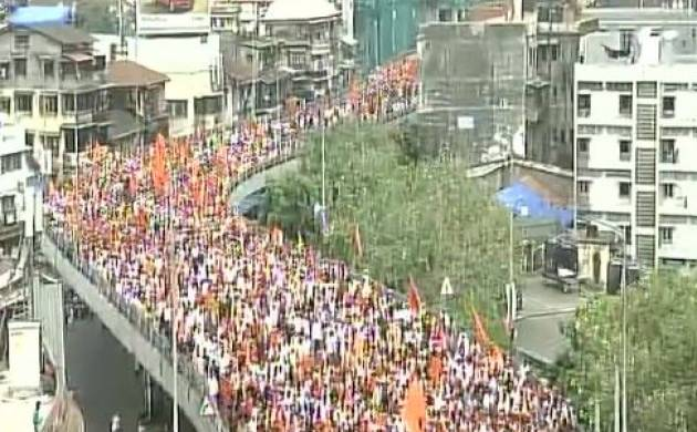 Marathas take out massive march in Mumbai to press for quota