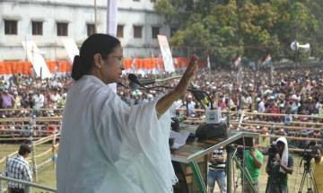 West Bengal Chief Minister Mamata Banerjee launches 'BJP Quit India' movement