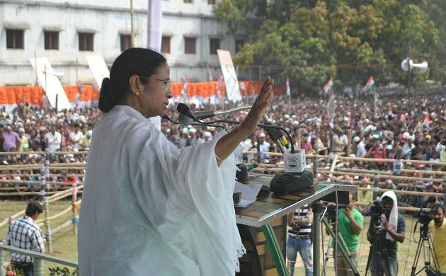 West Bengal Chief Minister Mamata Banerjee launches 'BJP Quit India' Movement (PTI Photo)