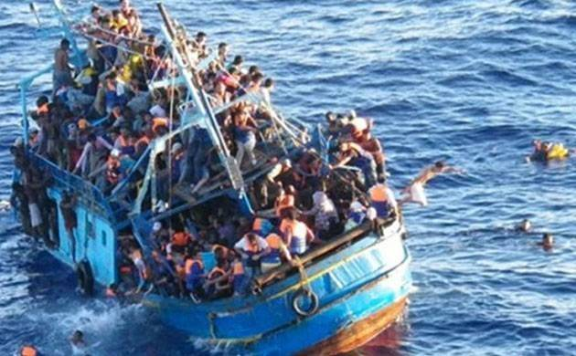 At least 50 migrants have been 'deliberately drowned' after human smugglers throw them off boats. (Representative Photo)