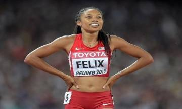 Allyson Felix settles for bronze in 400 m, equals Jamaican legend Usain Bolt, Merlene Ottey's record haul of 14 world championships medals