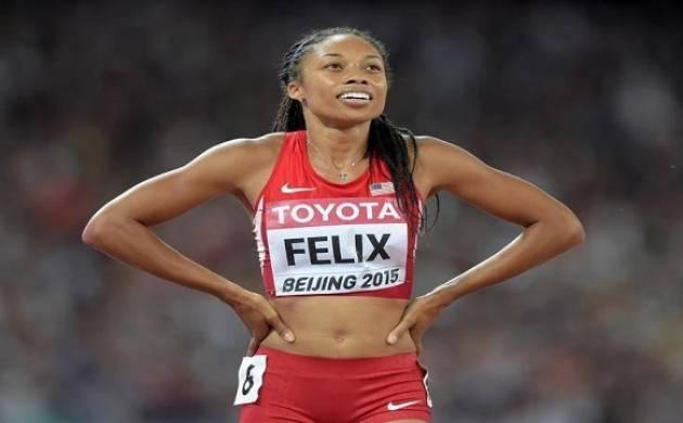 Allyson Felix - File Photo
