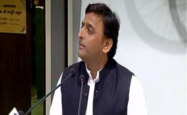 Akhilesh Yadav attacks Adityanath govt, alleges police extorting money in state