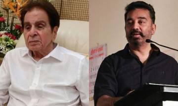 Kamal Haasan welcomes legendary actor Dilip Kumar back home