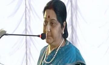 EAM Sushma Swaraj in Nepal: Our slogan of 'Sabka Saath Sabka Vikas' is for entire region
