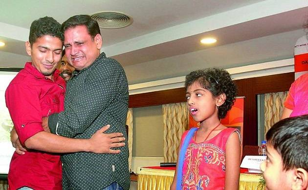 Thalassaemia survivor from Hyderabad meets her blood stem cell donor