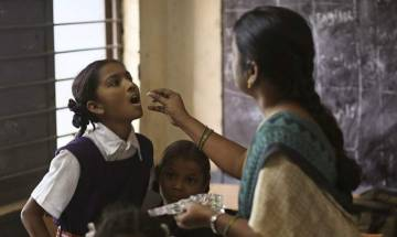 National Deworming Day: 4.31 lakh students to be dewormed with a single dose each of Albendazole