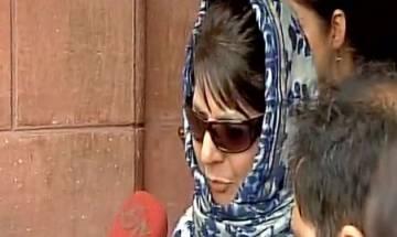 CM Mehbooba Mufti says Idea of India has to accommodate idea of Jammu & Kashmir