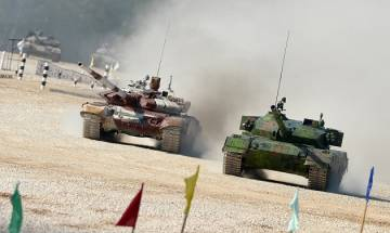 Indian Army knocked out of international drill after main and reserve T-90 main battle tanks develop snags