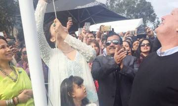 IFFM 2017: Aishwarya Rai Bachchan and daughter Aaradhya raise Indian flag at the event in Melbourne