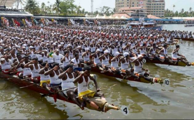 The 65th annual Nehru Trophy Boat Race will be held at Punnamada Lake in Kerala
