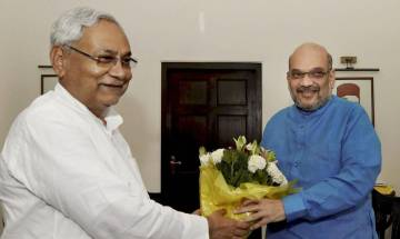 BJP President Amit Shah invites JD(U) chief Nitish Kumar to join NDA, offers post of co-convener