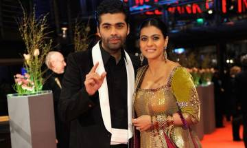 Bollywood stars Kajol and Karan Johar to patch up soon?