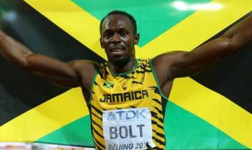 IAAF World Championships: Usain Bolt anchors Jamaica's  4*100 m relay team into finals