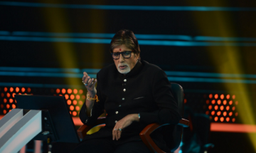 Amitabh Bachchan shares candid pictures from sets of 'Kaun Banega Crorepati'