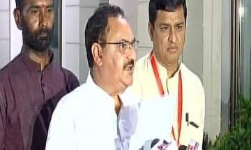 Gorakhpur hospital tragedy: Modi's health minister Nadda announces research centre for children's diseases in yogi's home constituency