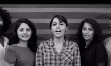 Happy Birthday Pakistan: Indian Acapella Band Voxchord performs neighbor's national anthem