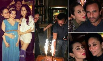Saif Ali Khan rings his birthday with wife Kareena and family (see pics)