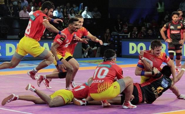 Pro-Kabaddi 2017: Gujarat Fortunegiants beat Bengaluru Bulls