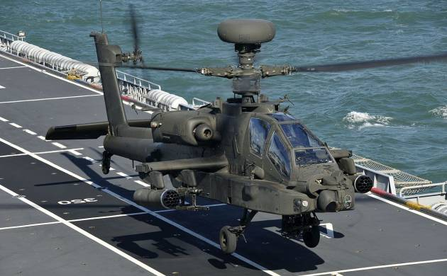 Indian Army to get six Apache attack helicopters (File/wiki)