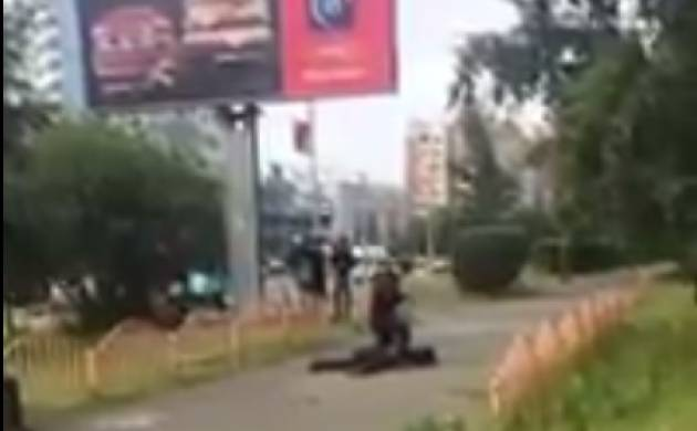 Days after Spain and Finland attack, Knife attacker wounds 8 in Russian city, shot by police (Screengrab)