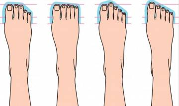 5 things your feet say about your personality